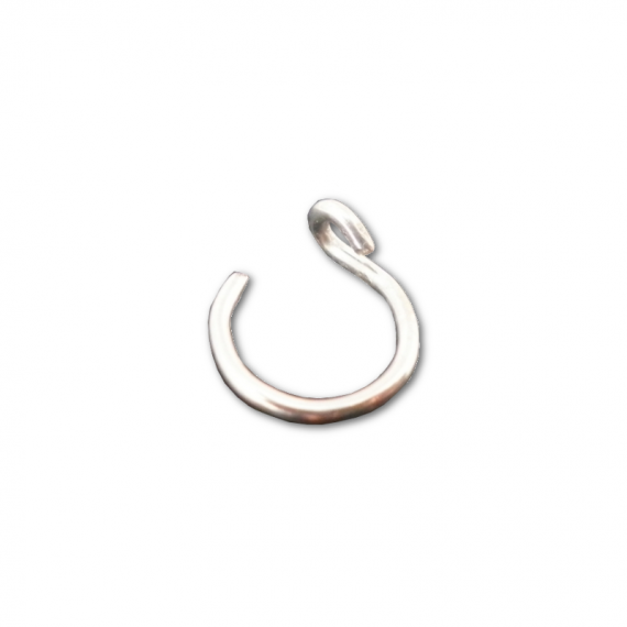 sterling silver fake nose ring