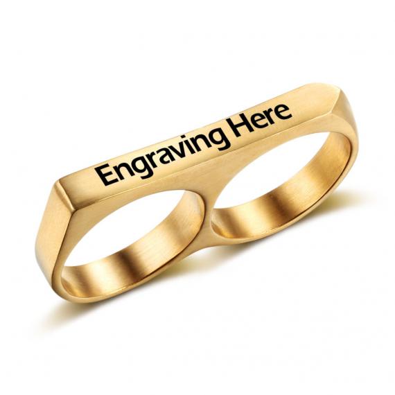 טבעת לשתי אצבעות