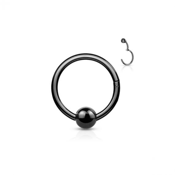 טבעת קליקר שחור